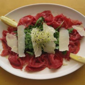 Bresaola, Rocket Salad and Parmesan