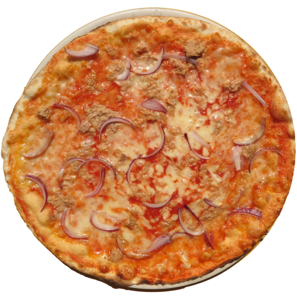 tomato, mozzarella, tuna, onion