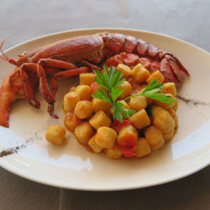 Gnocchi with Shellfish