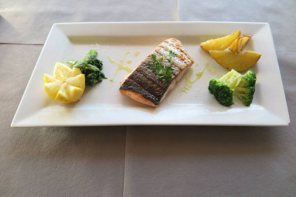 Grilled Fresh Salmon with Season Vegetables