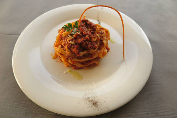 Handmade Tagliatelle with Bolognese
