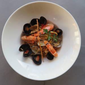 Tagliolini with Seafood