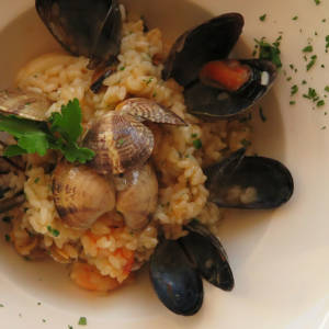 Chef's risotto